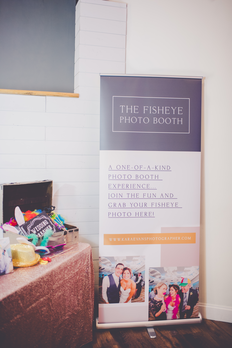 Fisheye Photo booth Retractable Banner