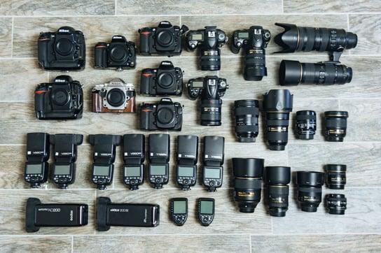 Sean Lara Photography Camera Flatlay
