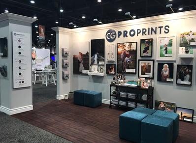 CG Pro Prints WPPI Booth Interior