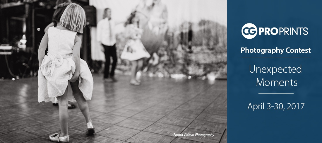 CG Pro Prints Unexpected Moments Photography Contest